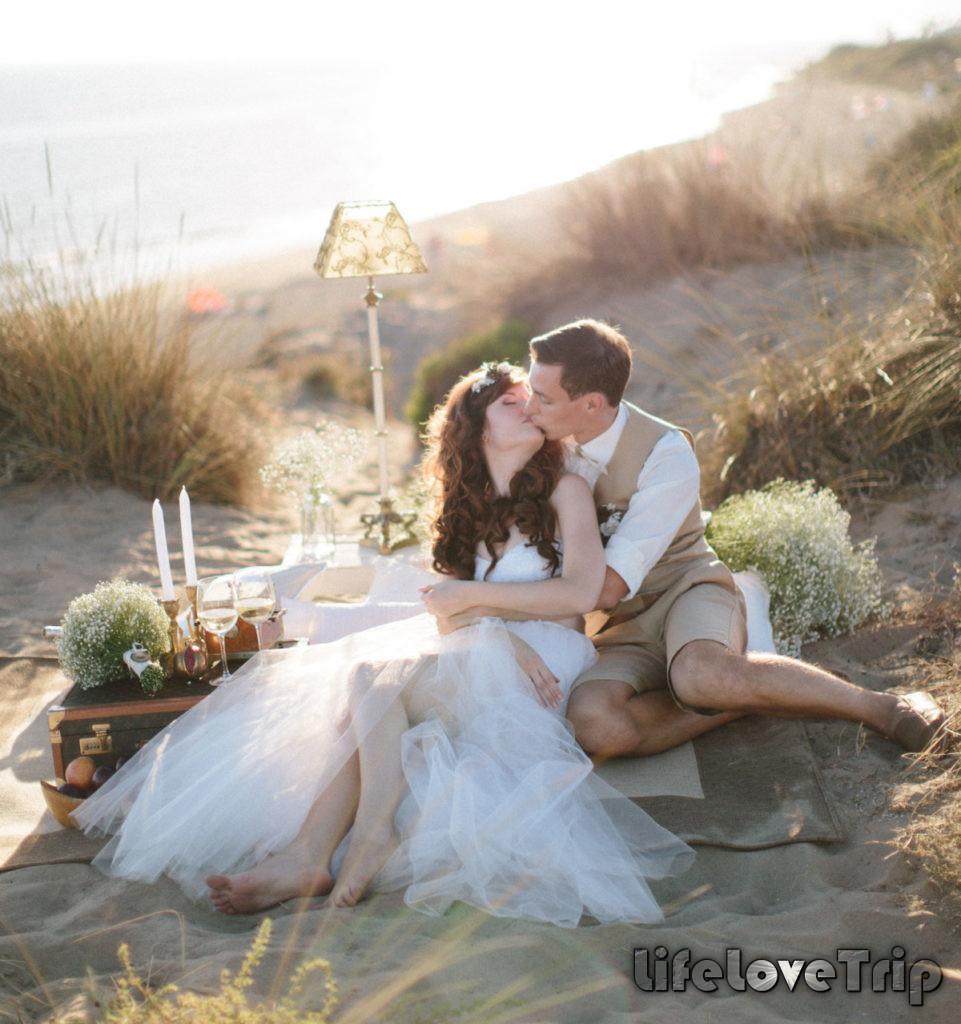 Свадьба в Испании на берегу моря