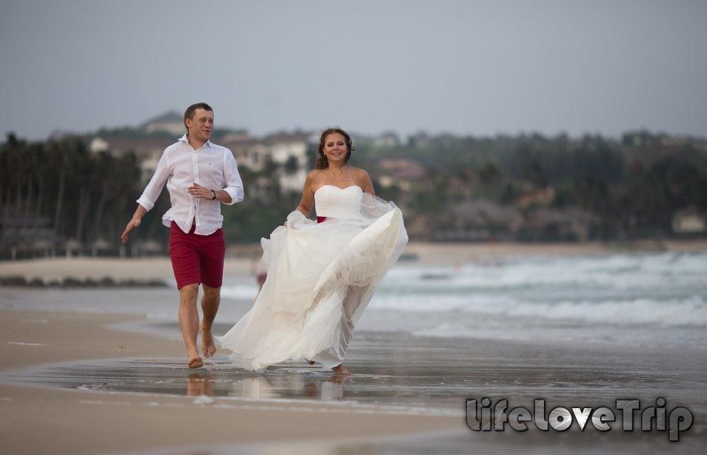 Свадьба на берегу моря в Малаге