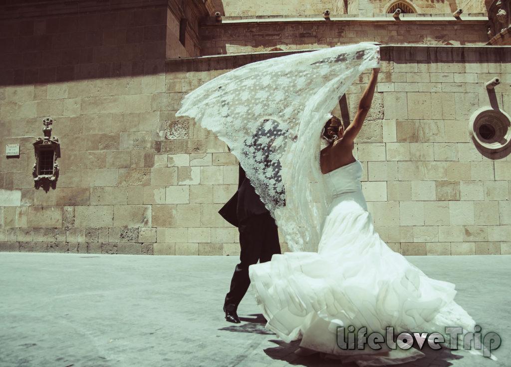 Свадьба в традиционном стиле в Испании