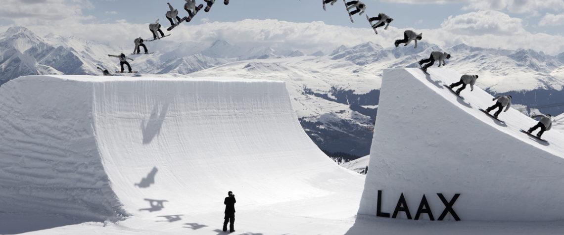 Лаакс в Швейцарии встречает сноубордистов