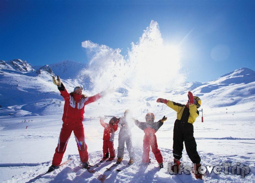 лыжный спорт полезен всей семье