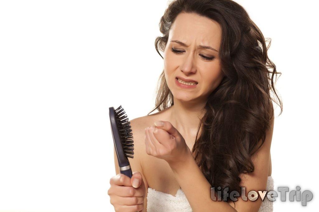 выпадение волос - повод для беспокойства
