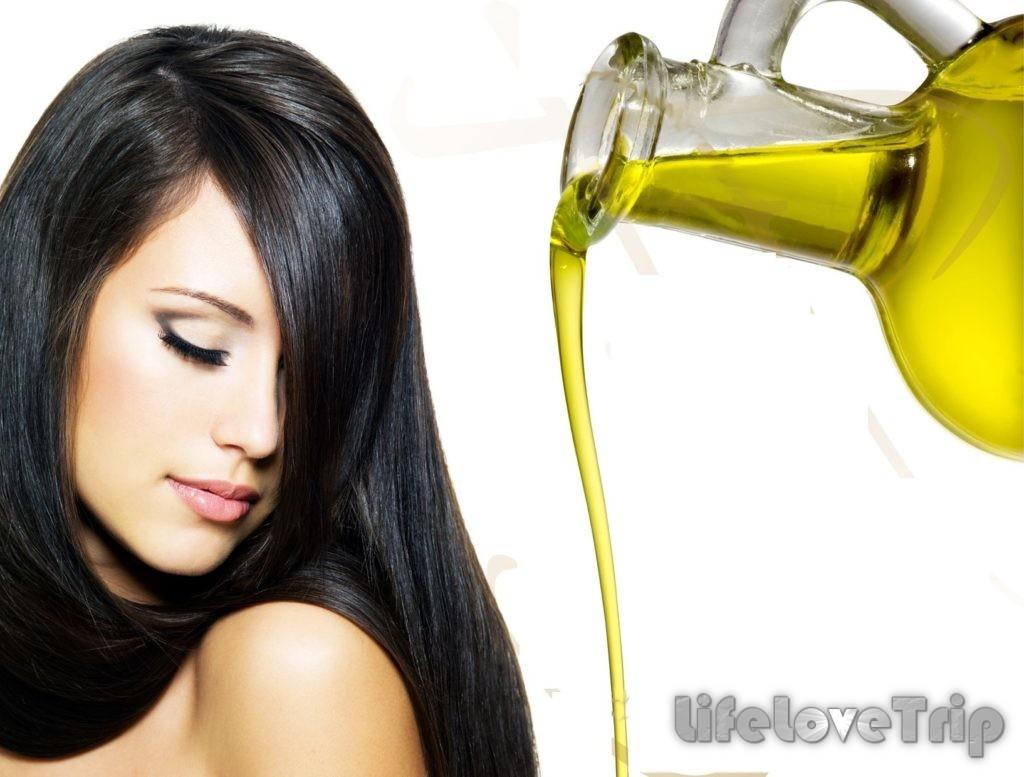 натуральные масле обеспечат вашим волосам здоровый блеск