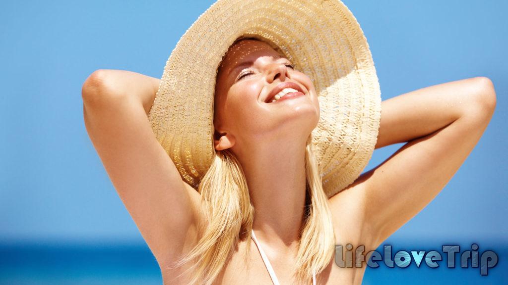 прячьте ваши волосы от солнца