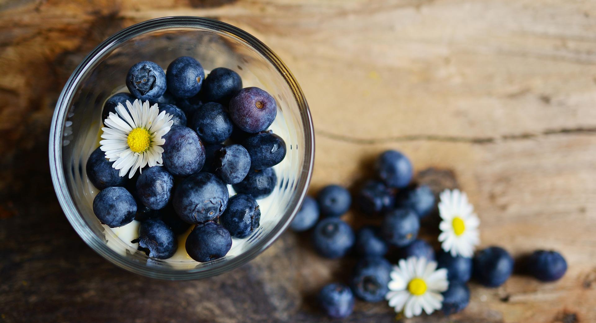 голубика - прекрасное дополнение к вашему завтраку