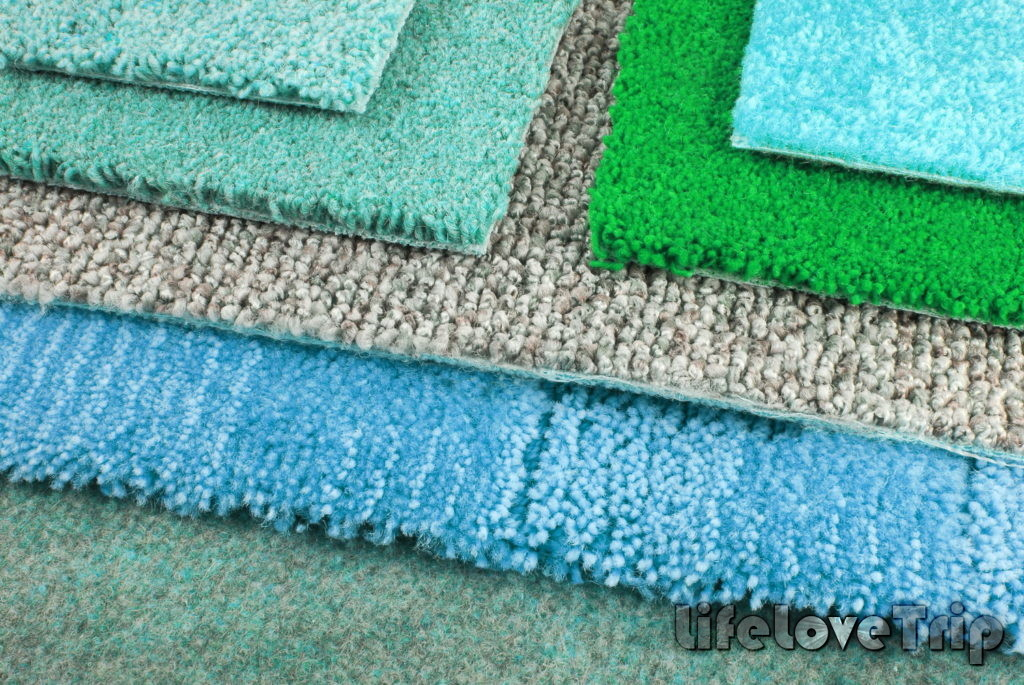 ковровое покрытие создает уют