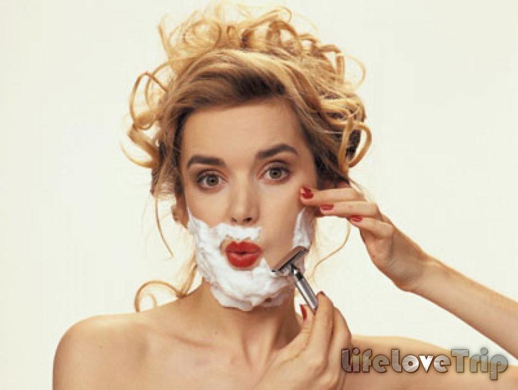 волоски на женском лице это не всегда плохо