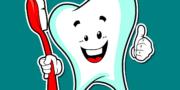 чистим зубы правильно и улыбаемся