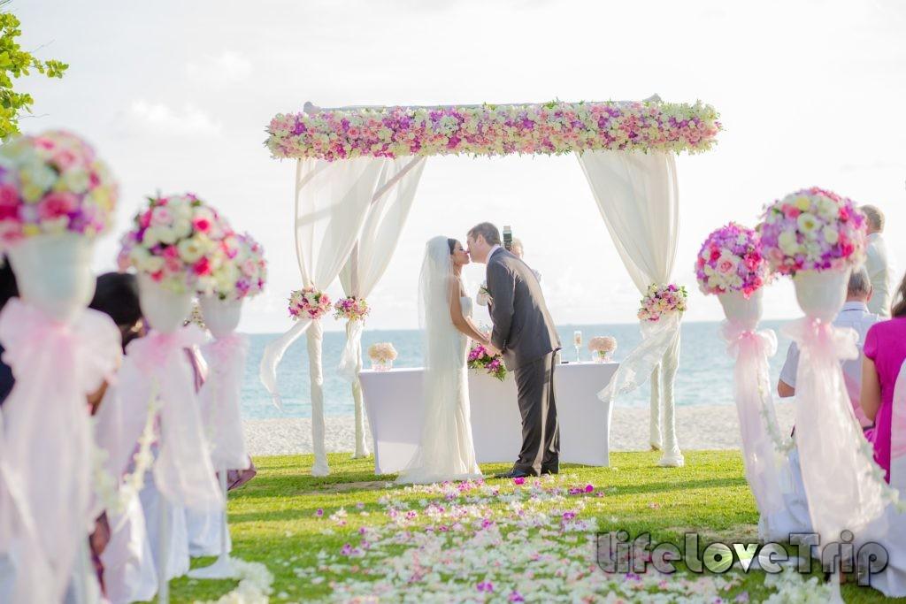 свадьба за границей останется в памяти навсегда