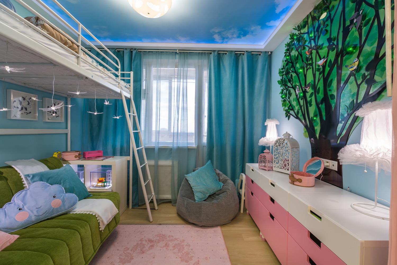 детская спальня должна быть удобной и функциональной