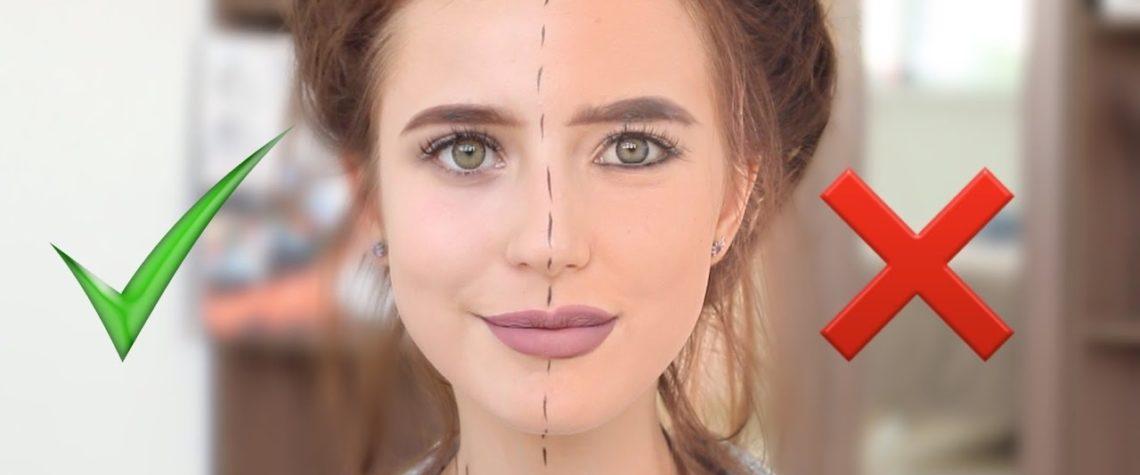 ошибки макияжа могут испортить вам внешний вид