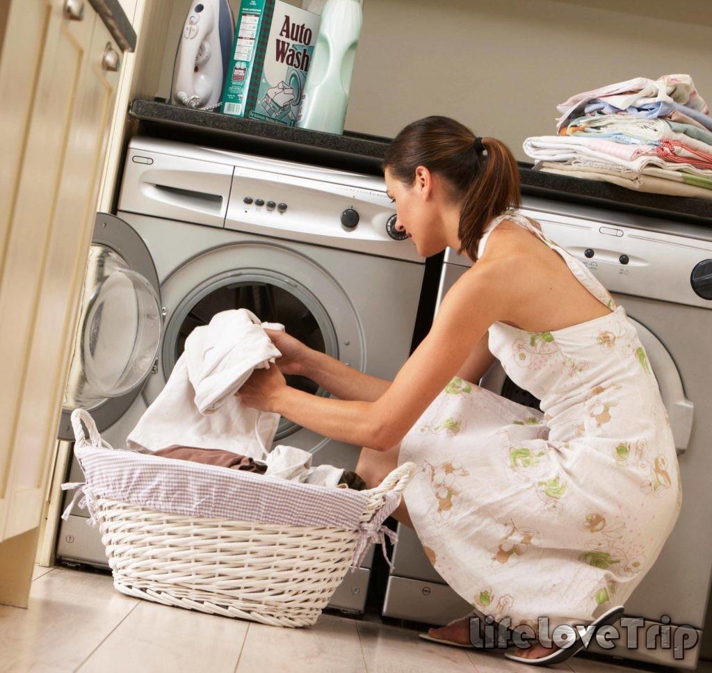 тщательно выбирайте режим стирки постельного белья