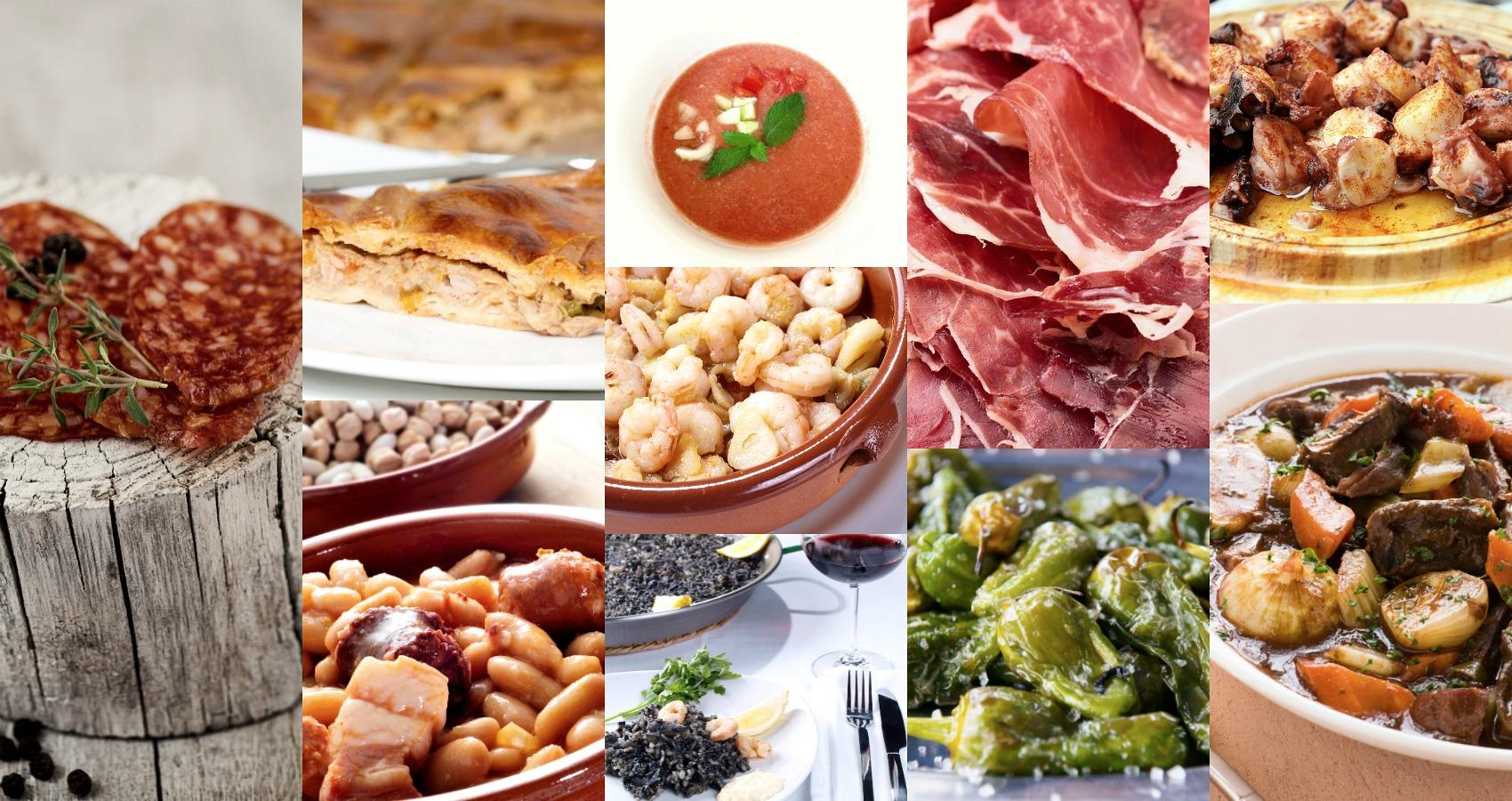 летняя испанская кухня полезна и разнообразна