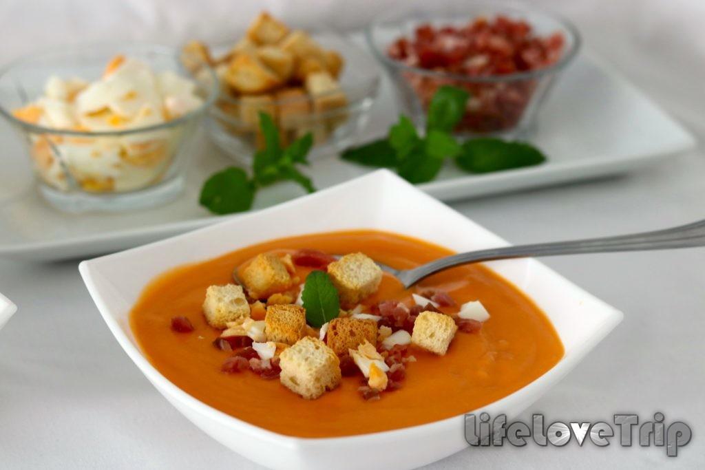 пикантный суп из Кордобы никого не оставит равнодушным