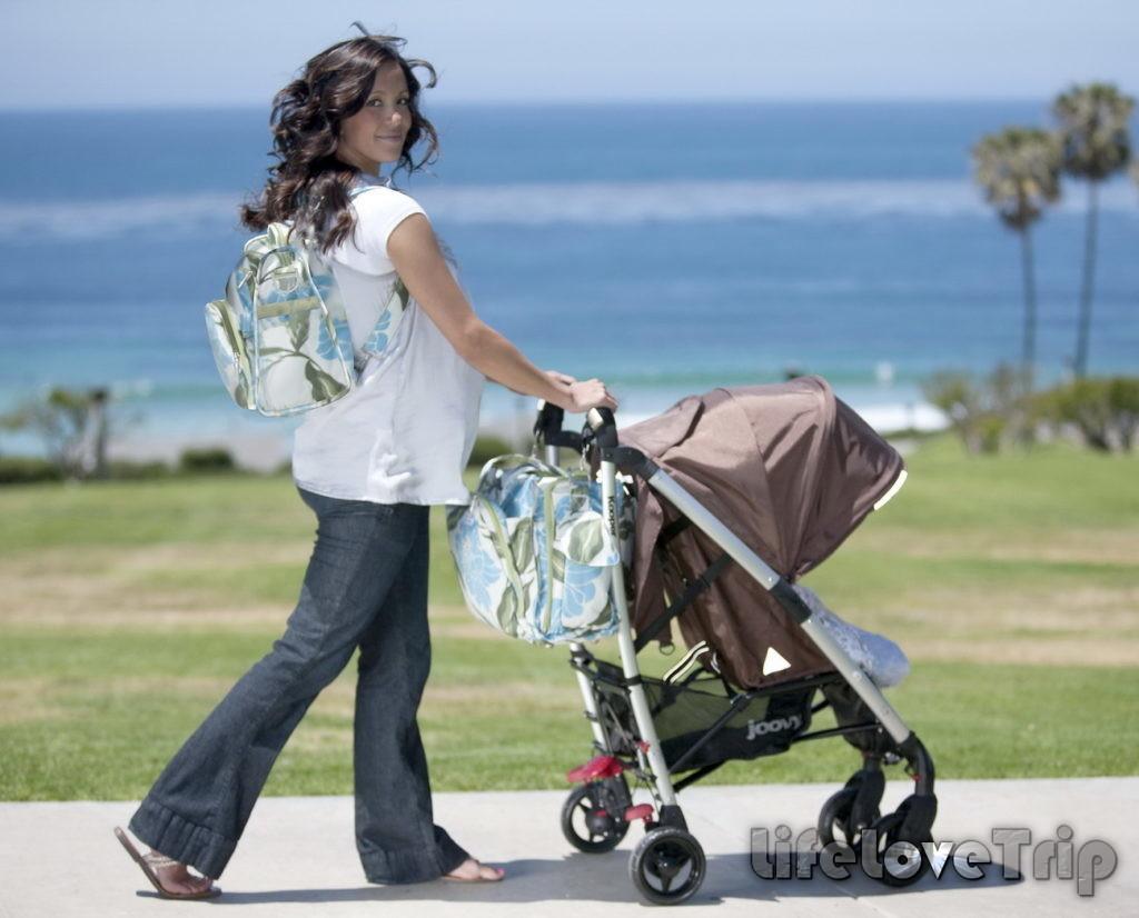 прогулки на свежем воздухе в удобной коляске это удовольствие