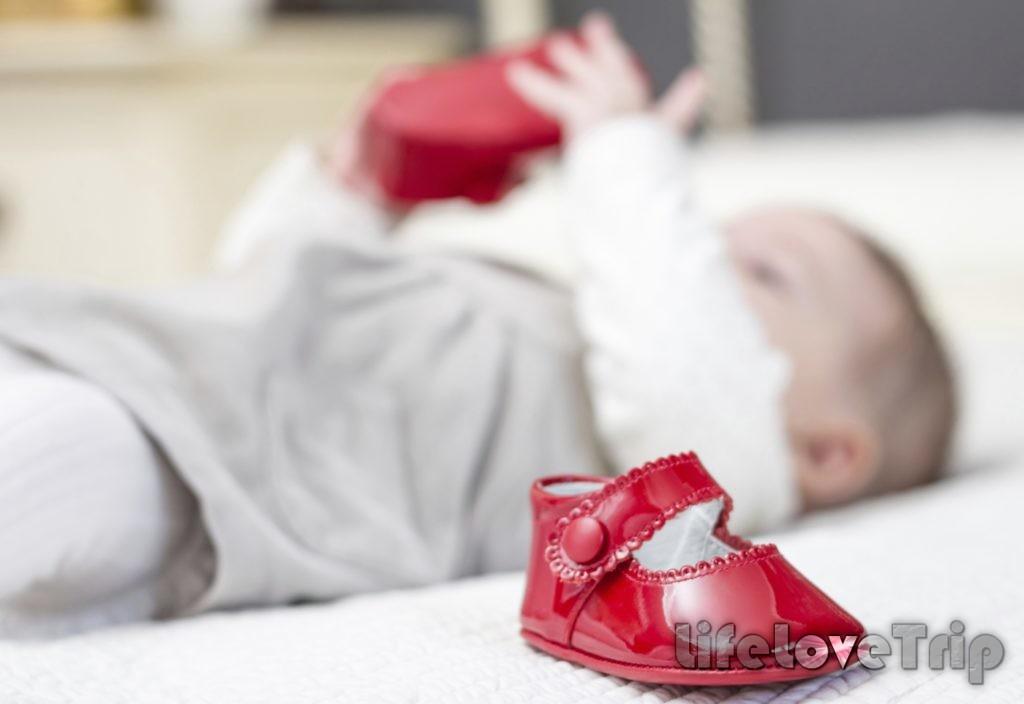 Ребенку должна нравиться выбранная обувь.