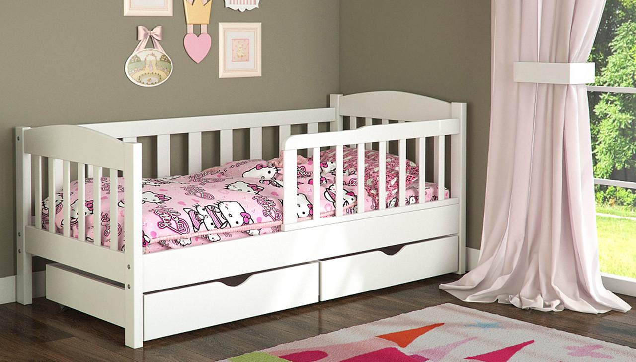 Детская кроватка должна иметь съемные борта.