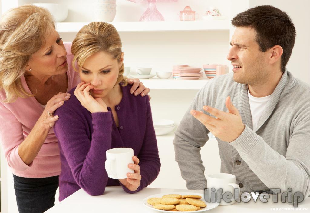 Мама дочери может чувствовать угрозу со стороны нового мужа.