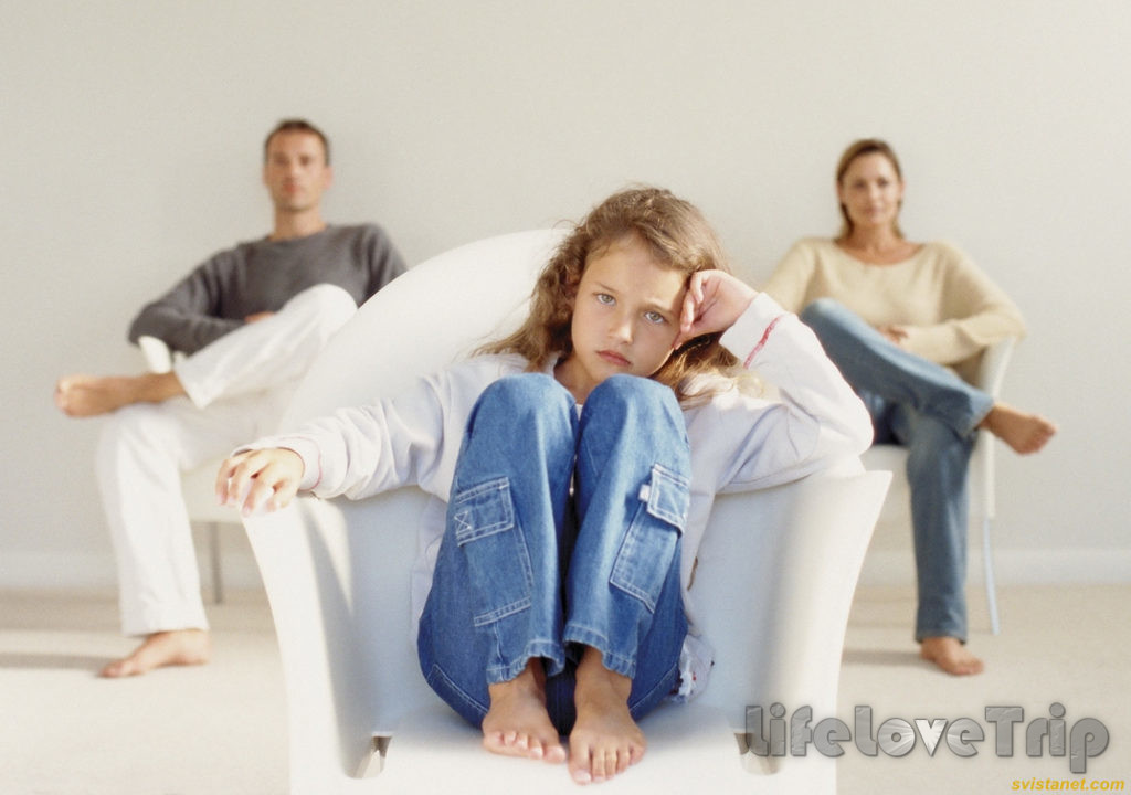 Дети в неполной семье бывают плохо развиты психически.
