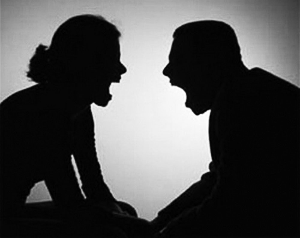 Простая ссора может в итоге разрушить семью.