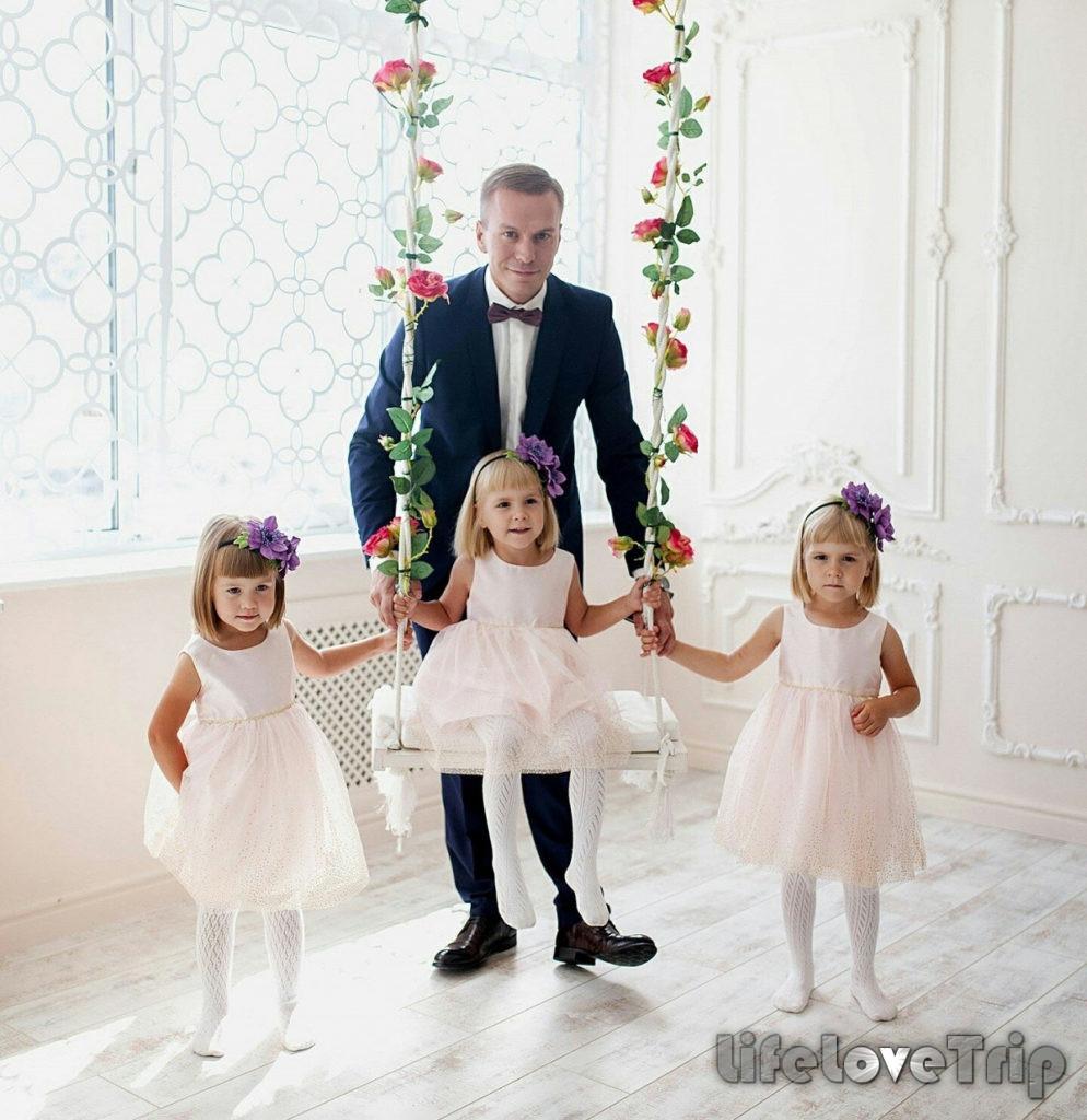 Вдовец с детьми - выбор далеко не для каждой женщины.