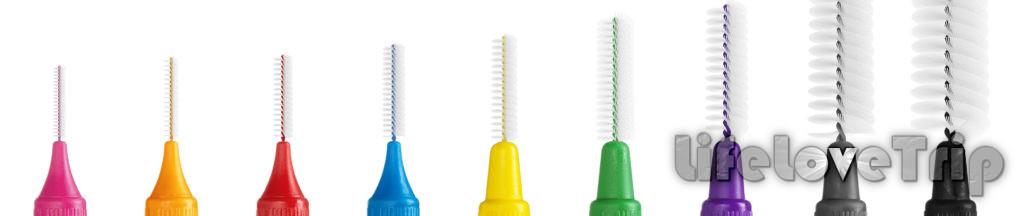 Из существующего разнообразия вы обязательно подберете подходящий зубной ёршик.