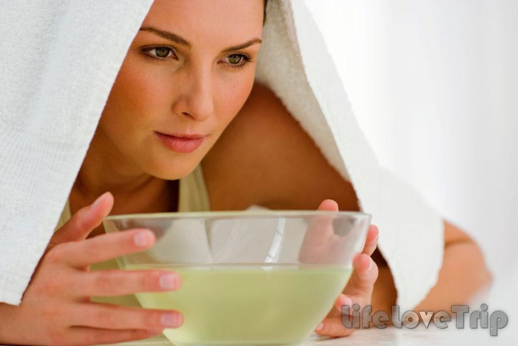 Ванночки расширяют поры и сосуды, отделяют сальные пробки, рассасывают угревые уплотнения на коже.