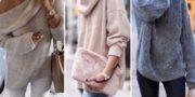 женские пуловеры и свитера