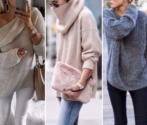 Женские пуловеры и свитера: актуальные тенденции зимы 2019 года