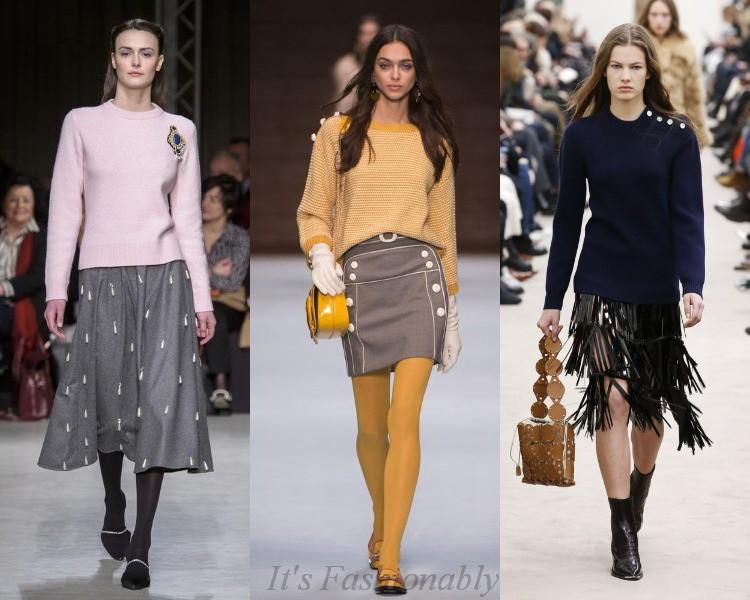 стильные женские пуловеры