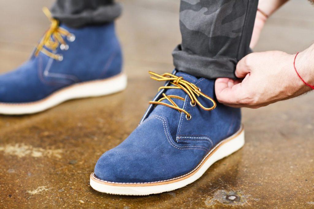 уход за замшевой обувью зимой в домашних