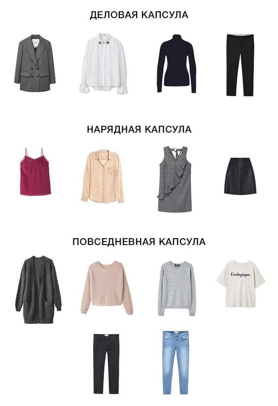 капсульный гардероб полным