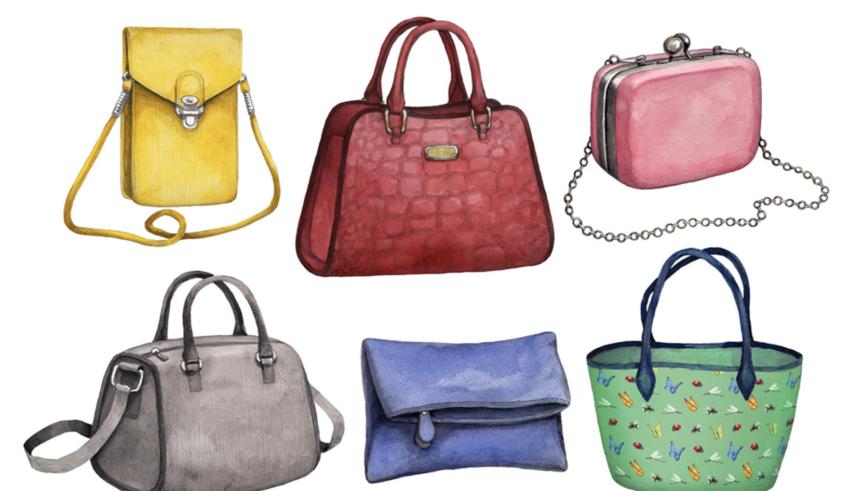 Виды женских сумочек